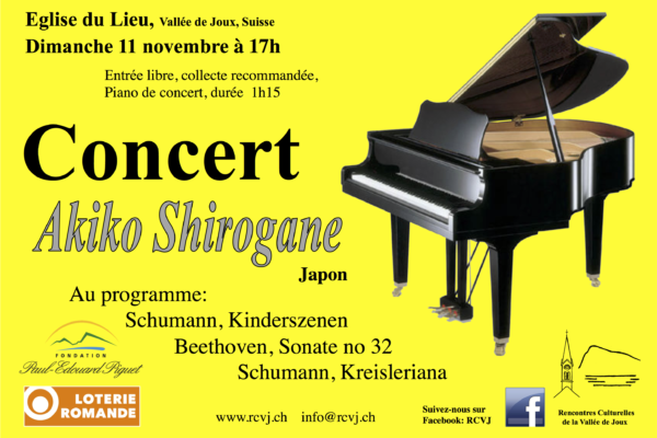 Concert Akiko Shirogane