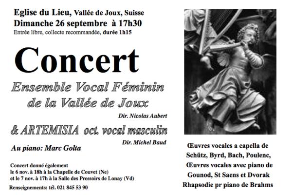 Ensemble Vocal Féminin de la Vallée de Joux