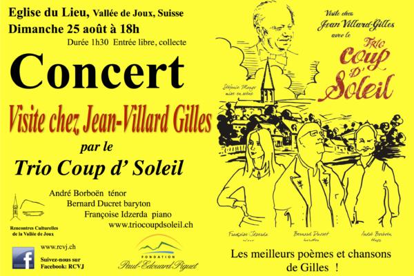 Visite chez Jean-Villars Gilles