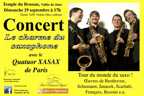 Le charme du saxophone