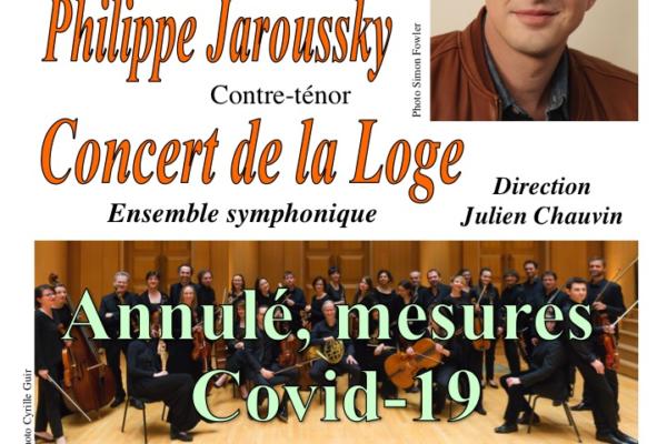 ANNULE – concert de Jaroussky
