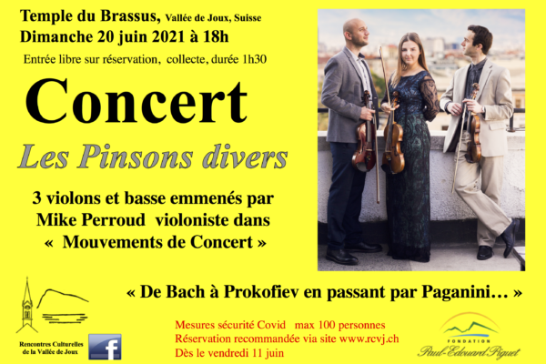 Concert Les Pinsons divers