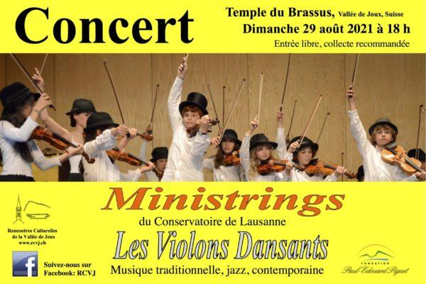 Ministrings – Les violons dansants