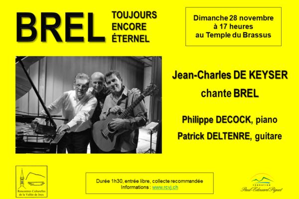 Jean-Charles De Keyser chante Brel